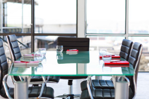 Empty Corporate Meeting Room